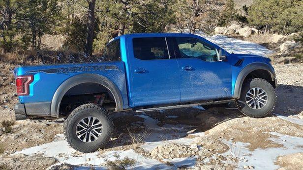 Ford Raptor Rear