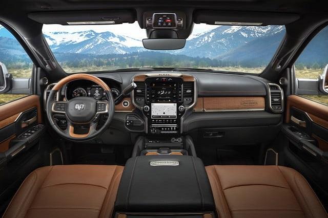 Ram 2500 Diesel Interior