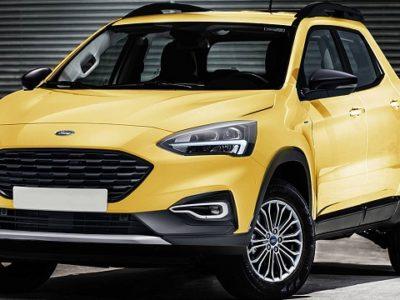 Ford Focus Based Pickup