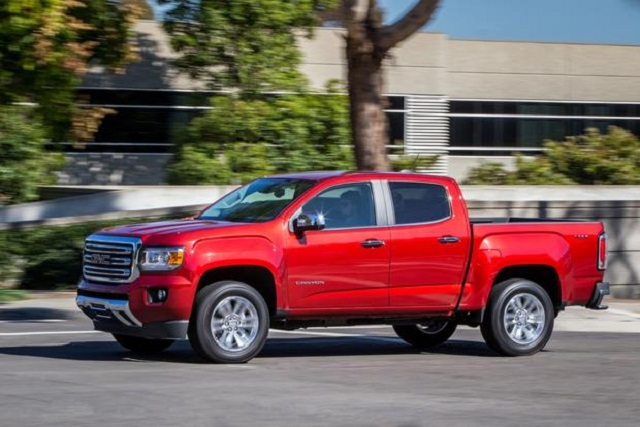Worst pickup trucks in the last 10 years GMC Canyon