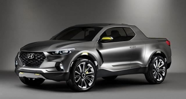 Hyundai pickup truck North America