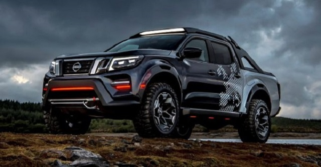 Nissan Frontier Rendering Photo