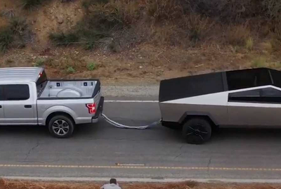 Tesla Cybertruck vs F-150