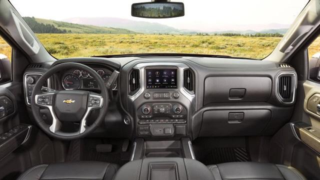 2020 Chevy Silverado cabin