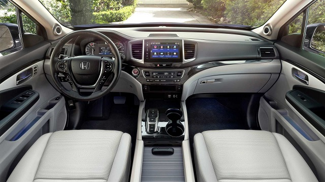 2020 Honda Ridgeline Interior Changes