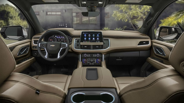 New Suburban and Tahoe Show How 2021 Chevy Silverado Cabin ...