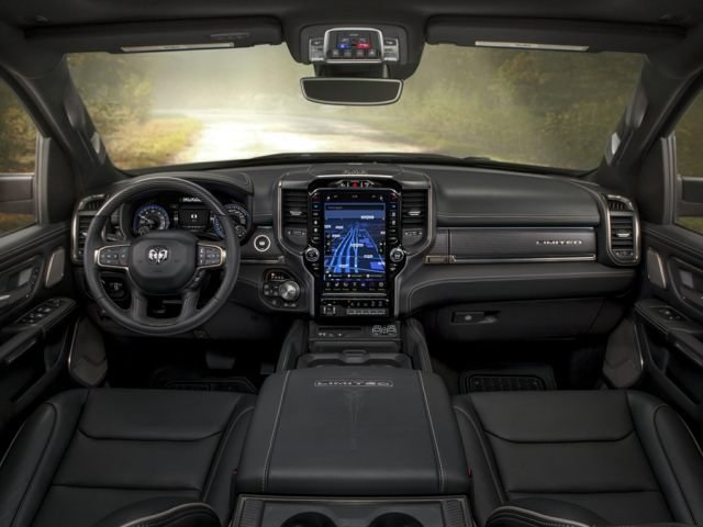 2021 Ram 1500 Diesel Interior