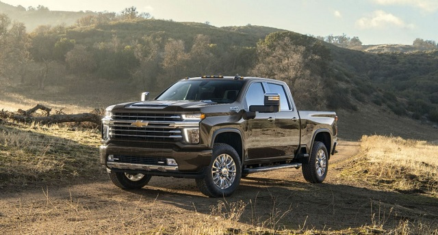 2021 Chevy Silverado 2500HD High Country Front