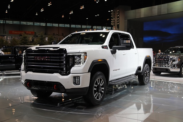 2020 GMC Sierra 2500HD AT4 Front