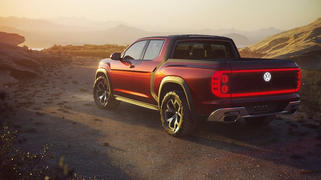 2021 VW Atlas Pickup Truck rear