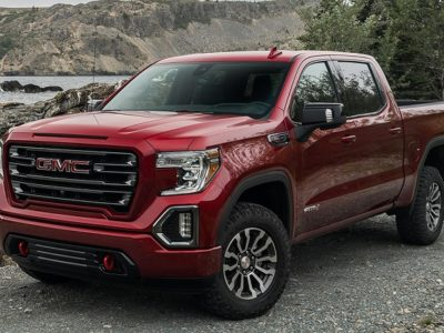 2021 GMC Sierra AT4 Red