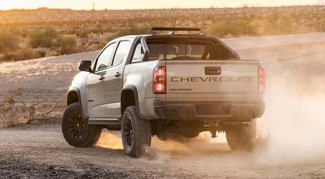 2021 Chevy Colorado Z71 rear