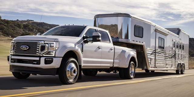 2021 Ford F-450 towing capacity