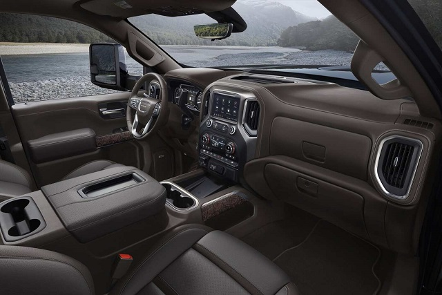 2021 GMC Sierra 3500HD Interior