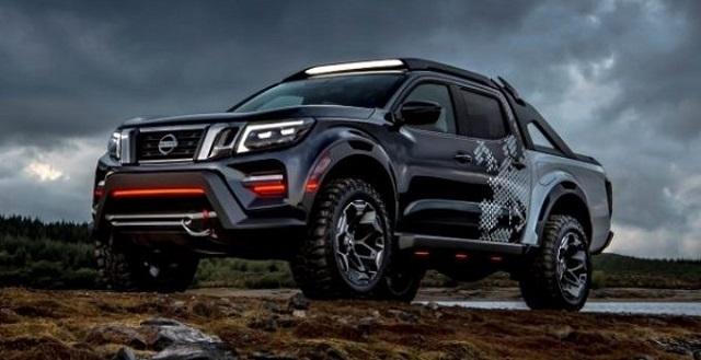 2021 Nissan Frontier Desert Runner Rendering