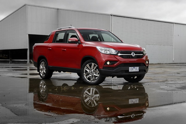 2021 SsangYong Musso front
