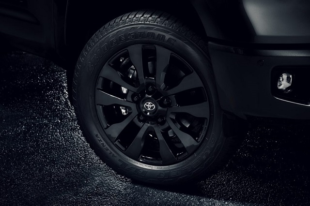 2021 Toyota Tundra Nightshade Rims