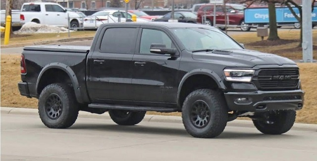 2022 Ram 1500 Rebel TRX Spy Shot