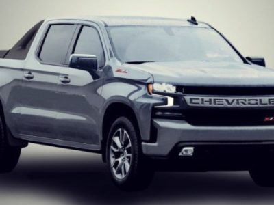 2021 Chevy Avalanche Rendering