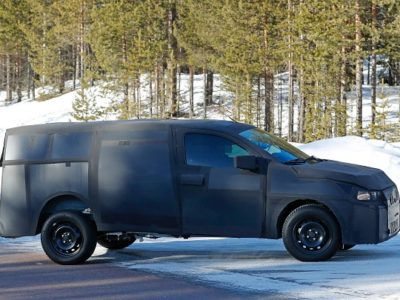 2021 Fiat Mobi Pickup spy shot