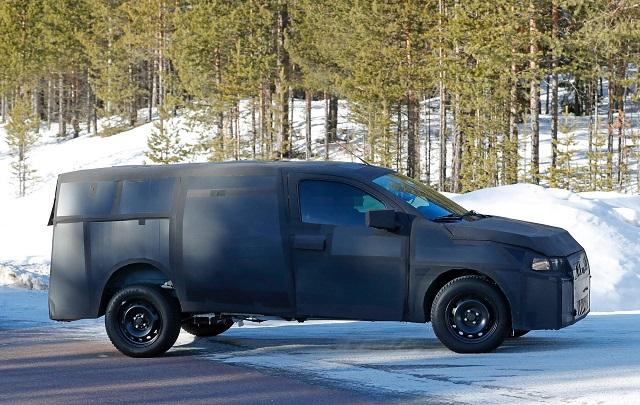 2021 Fiat Mobi Pickup spy shot