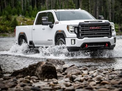 2021 GMC Sierra AT4
