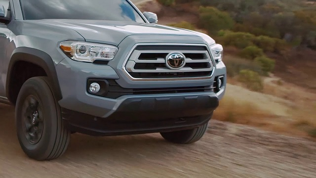 2021 Toyota Tacoma Trail Edition front