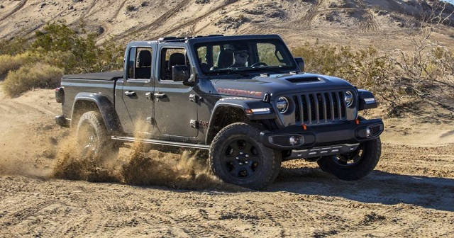 2021 Jeep Gladiator Mojave Release Date
