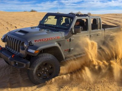 2021 Jeep Gladiator Mojave specs