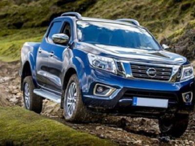 2022 Nissan Frontier Rendering
