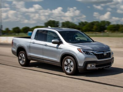 2022 Honda Ridgeline Featured