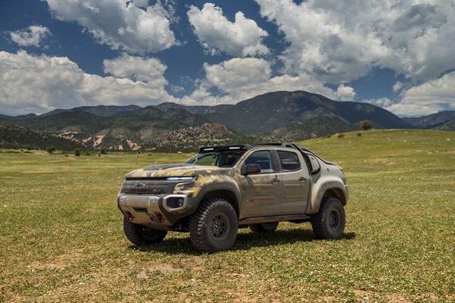2023 Chevrolet Colorado rendering photo