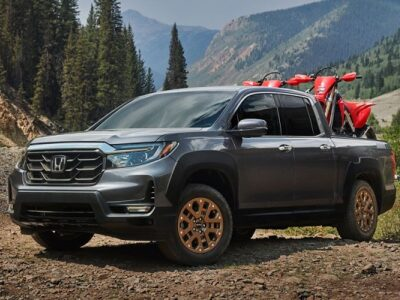2021 Honda Ridgeline Black Edition featured