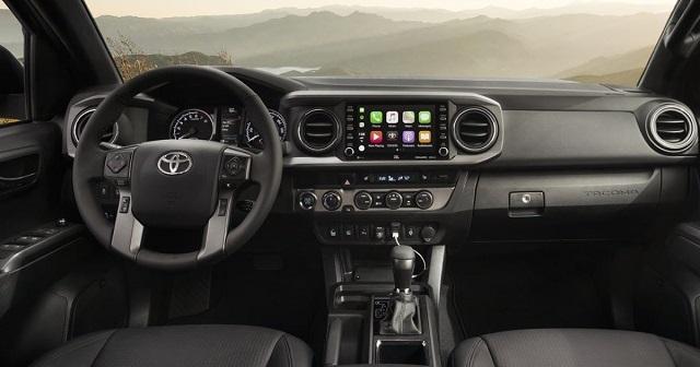 2022 Toyota Tacoma interior