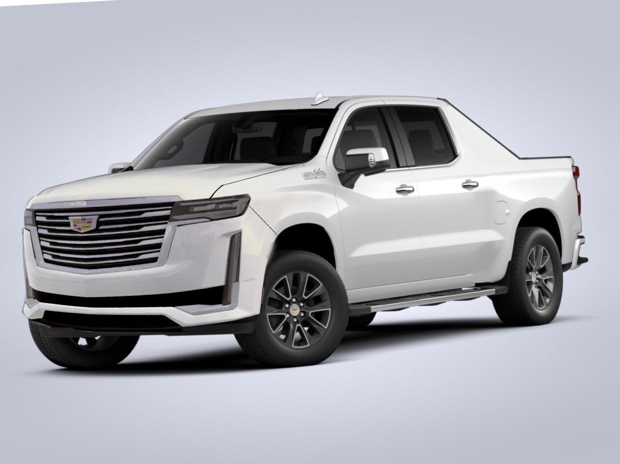 2022 Cadillac Escalade EXT Render