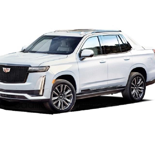 2022 Cadillac Escalade EXT Rendering Photo - Copy