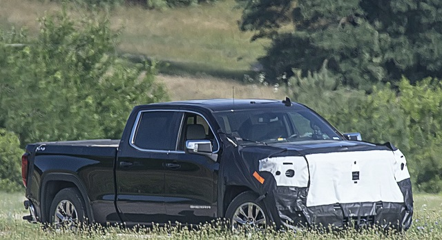 2022 GMC Sierra 1500 facelift