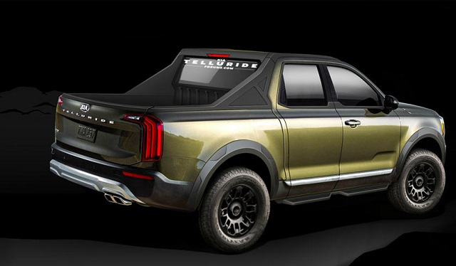 2022 Kia Pickup Truck Rendering photo