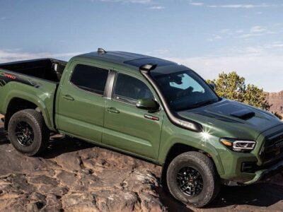 2022 Toyota Tacoma TRD Pro Featured