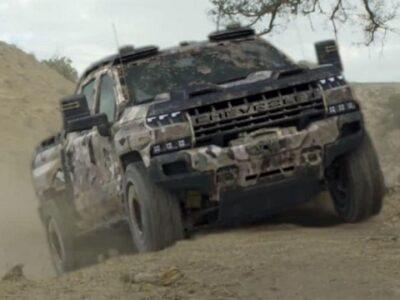 2022 Chevrolet Silverado EV render