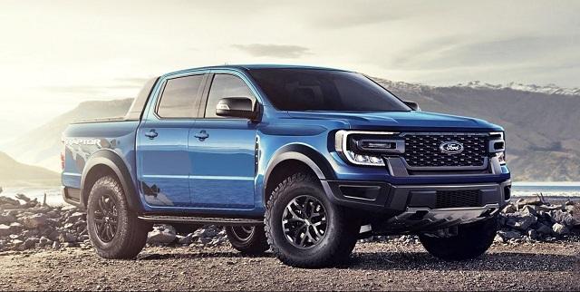 2022 Ford Ranger Raptor Render