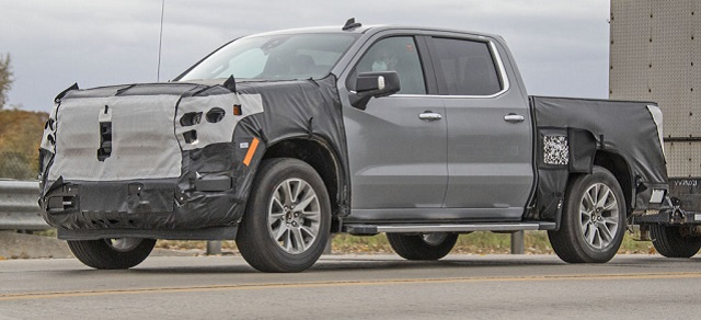 2022 Chevy Silverado 1500 spy shot