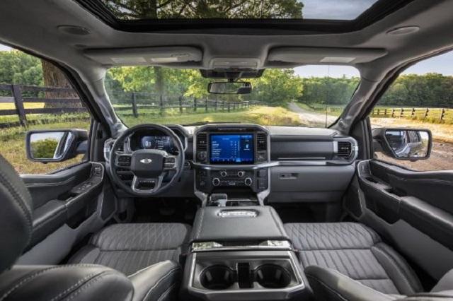 2022 Ford F-150 Hybrid Interior