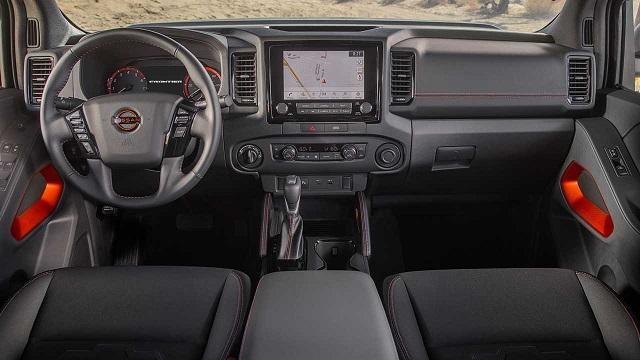 2022 Nissan Frontier NISMO Interior rendering