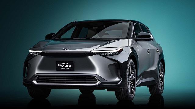2022 Toyota Electric Pickup BZ4X Concept