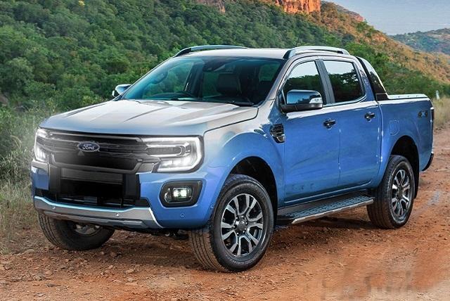 2022 Ford Ranger Wildtrak Render