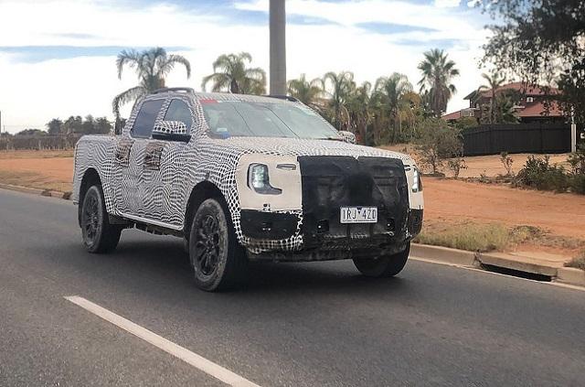2022 Ford Ranger Wildtrak Spy Photo