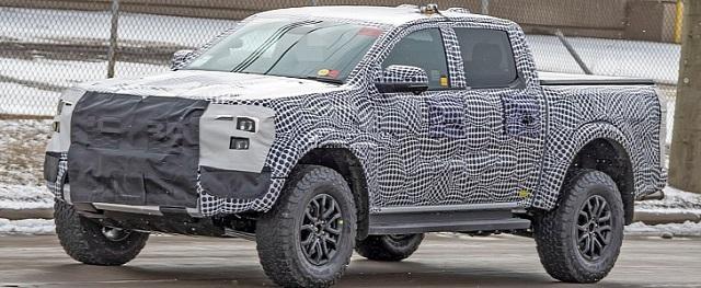 2023 Ford Ranger spy shot